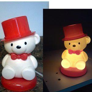 Little Cute Polar Bear Silicone Night light